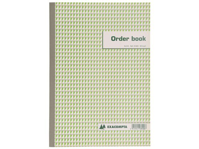 Exacompta Orderboek 135x105 NCR 2-voud
