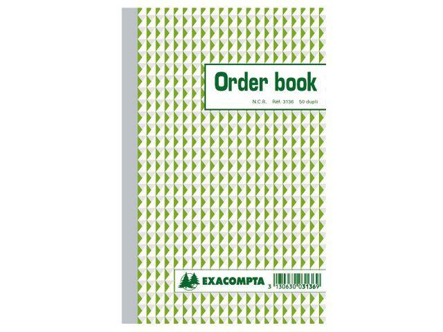 Exacompta Orderboek 210x135 NCR 2-voud