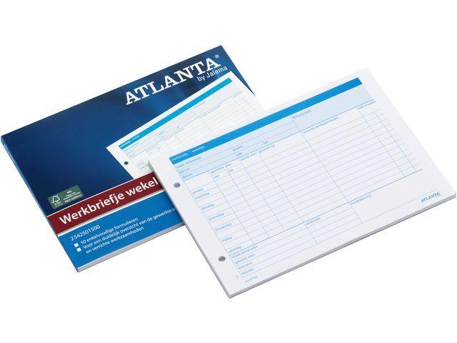 ATLANTA Werkbrief Atlanta A5 wekelijks/blok 50