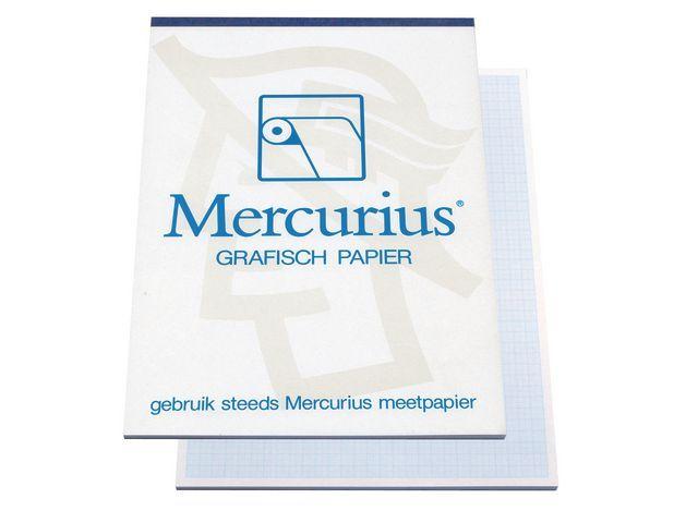 Millimeterpapier A3 blauw/blok 50v