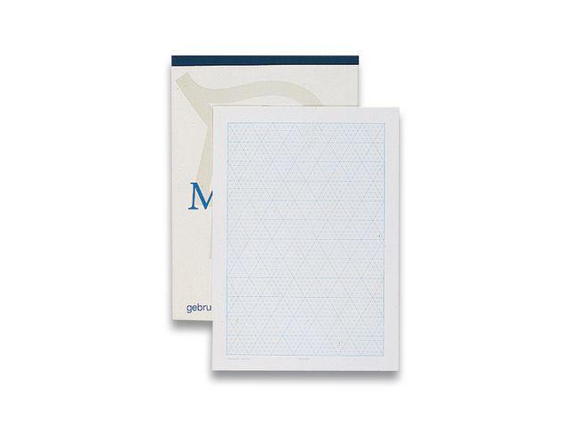 Isometrisch papier A4 80grs/blok 50v