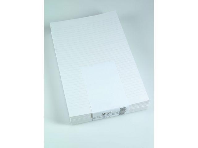 AURORA Papier Minister dubbelfolio lijn/pk 240v