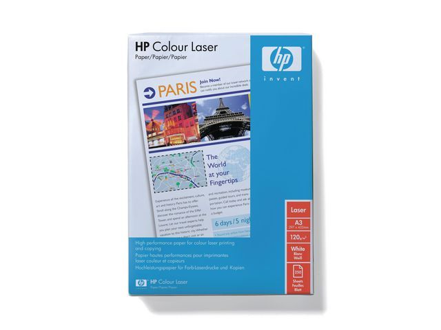 HP Papier HP A3 120g Colour Laser/250v