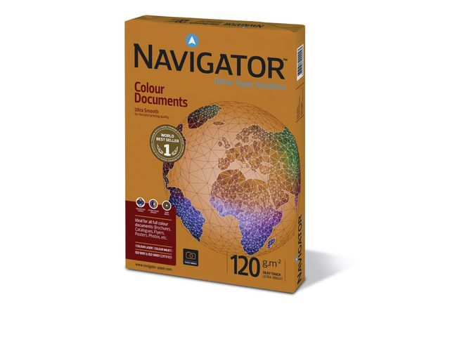 Navigator Papier Navigator A4 120g Cl doc /250v