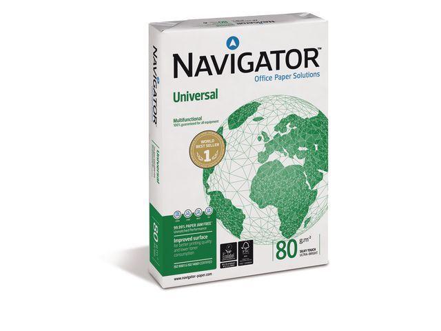 Navigator Papier Navigator A4 80g Univ./ds 5x500v