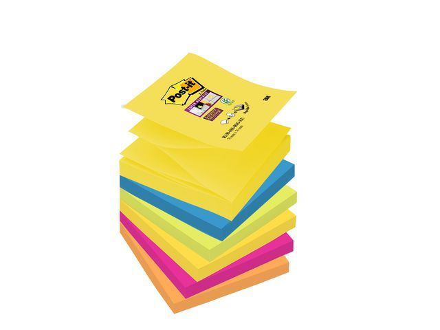 Post-it® Notitieblok SuperSt. Z-note 76x76 nn/pk6