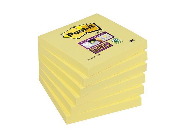 Post-it® Notitieblok SuperSt. 76x76 kan.gl/pk6