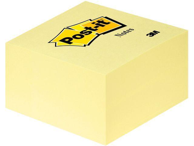Post-it® Notitieblok Post-It 76x 76mm geel/bl450v