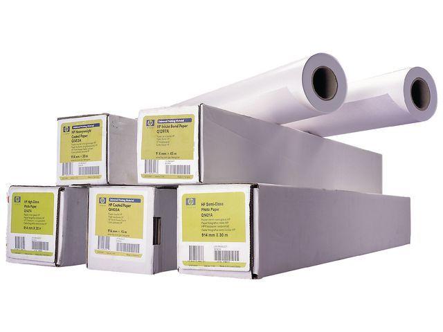 HP Papier Designjet HP Uni. Bond Q1396A/rol
