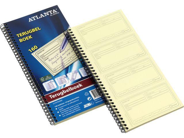 ATLANTA Terugbelboek Atlanta 74x125 duplo/pk5