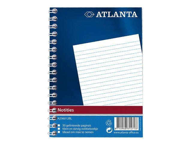 ATLANTA Spiraalblok Atlanta A6/pak 20
