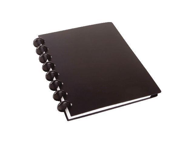 M by Staples Notitieboek ARC A5 lijn pp zwart