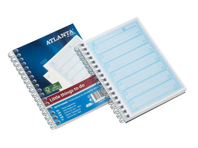 ATLANTA Planningboek A6 things to do today/pak 5