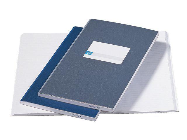 ATLANTA Registerboek Atlanta 105x165 blauw/pk 5