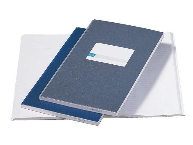 ATLANTA Registerboek Atlanta 105x165 grijs/pk 5