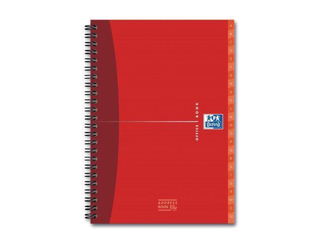Oxford Oxford Office Essentials adresboek A5 (pak 5 x 80 vel)