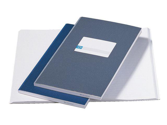 ATLANTA Registerboek 205x330 lijn 200blz gr/pk5