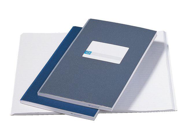 ATLANTA Registerboek 210x165 lijn 288blz bl/pk5