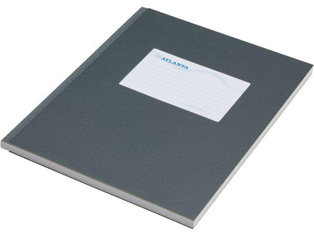 ATLANTA Registerboek 210x165 lijn 120blz gs/pk5