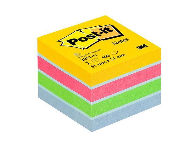 Post-it® Notitieblok Post-It 51x51 ultra/bl400v