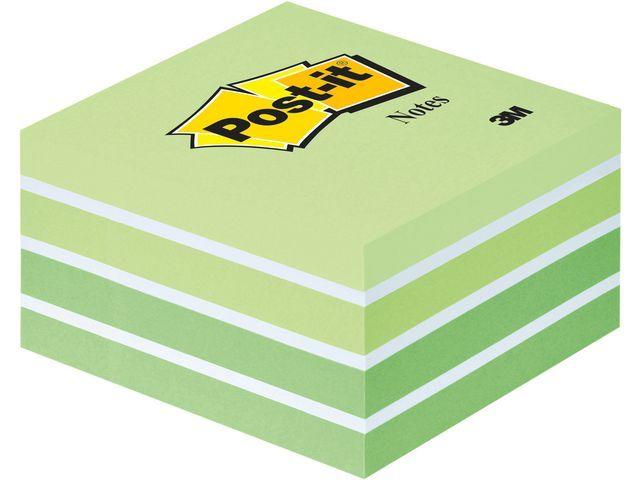 Post-it® Notitieblok PostIt 76x76mm pastelgr/450v