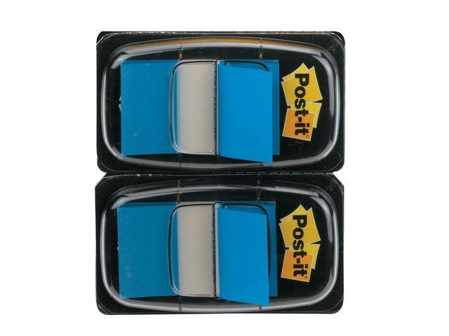 Post-it® Index Post-It 50 tabs blauw/pak 2