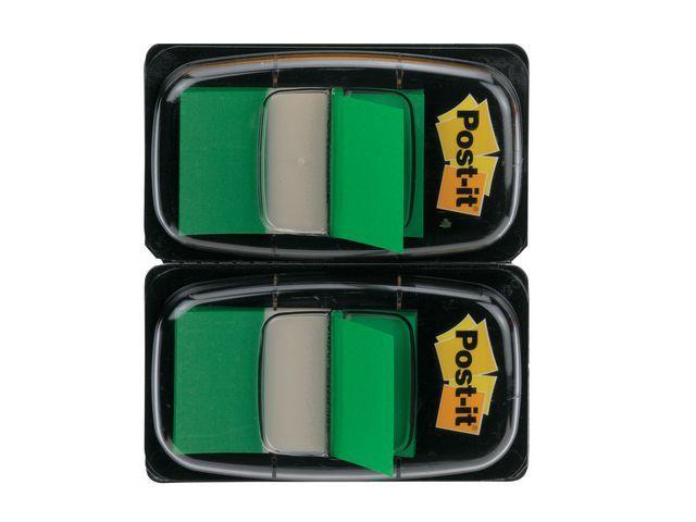 Post-it® Index Post-It 50 tabs groen/pak 2