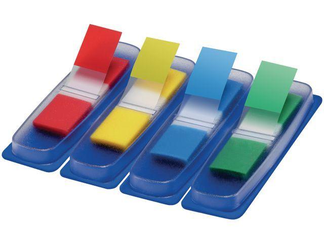 Staples Index SPLS 11x43 mm assorti/set 4x35