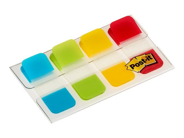 Post-it® Index Post-It Strong bl/gr/ge/rd