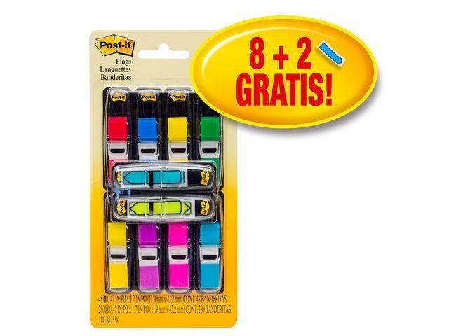 Post-it® Index Post-It mini value pack/set 10