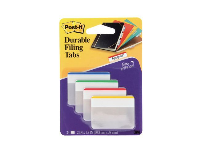 Post-it® Index Post-it Strong Tabs ordner/pak4x6
