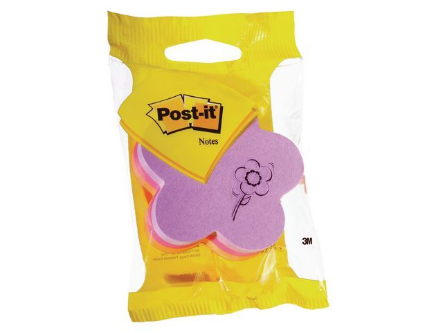 Post-it® Notitieblok Post-It bloem/blok225v