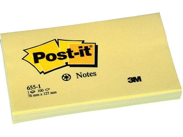 Post-it® Notitieblok recycled 76x127 past.gl/pk12