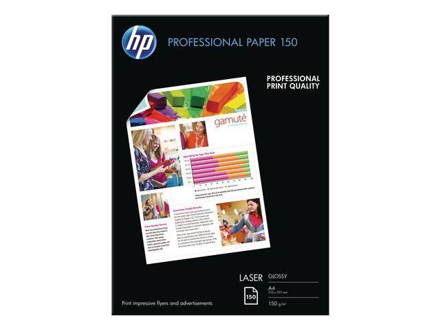 HP Fotopapier HP A4 150g Prof. gloss/pk 150