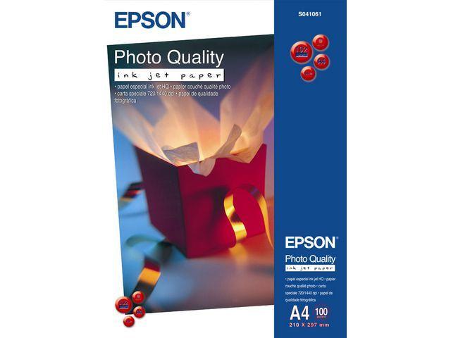 Epson Fotopapier Epson A4 104g foto mat/d100v