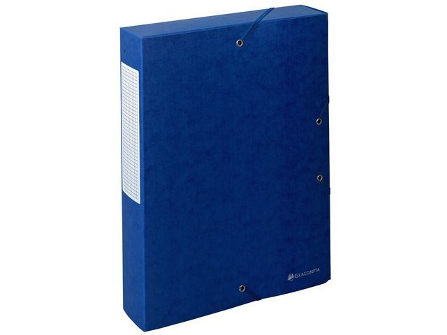 Exacompta Dossierbox Exacompta NF A4 60mm bl/pk 10