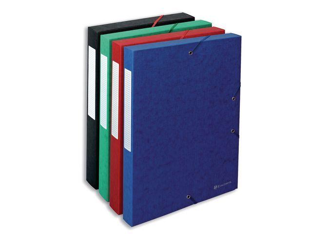 Exacompta Dossierbox Exacompta NF A4 40mm bl/pk10