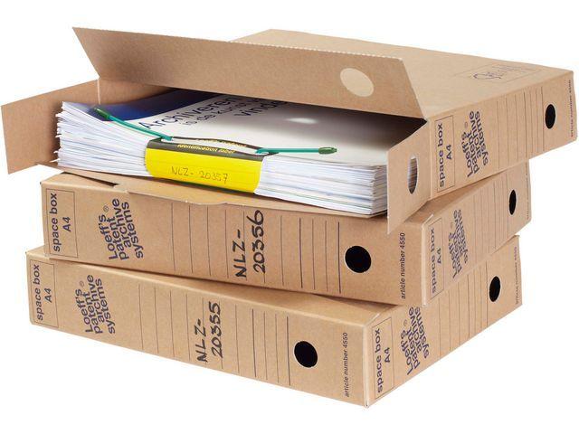 Loeff's Patent Loeff's Patent Archiefdoos Space box 320 x 240 x 60 mm (doos 50 stuks)