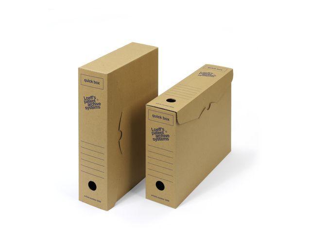 Loeff's Patent Loeff's Patent Archiefdoos Quick box 335 x 240 x 80 mm (pak 50 stuks)