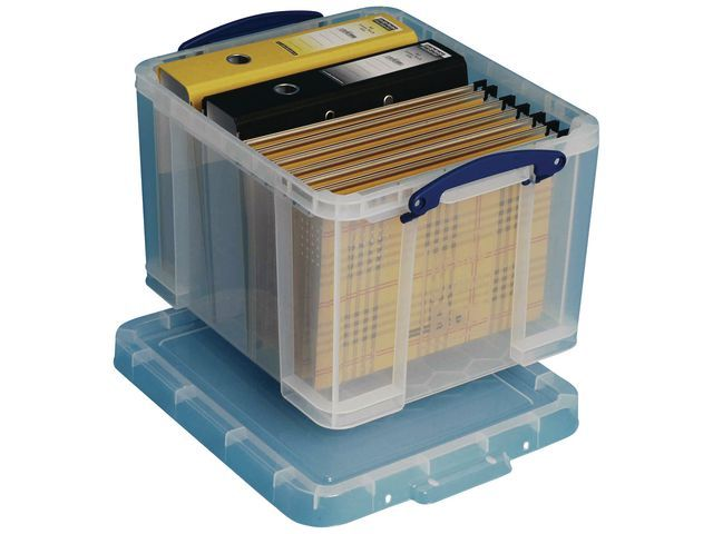 Really Useful Box Opbergbox Rub transparant 35L