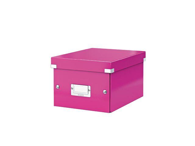 Leitz Leitz Archiefdoos Click & Store klein Roze