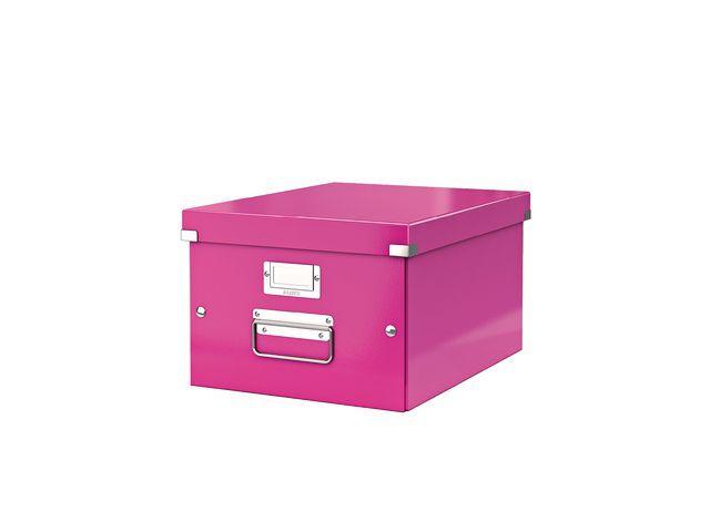 Leitz Leitz Archiefdoos Click & Store middelgroot Roze
