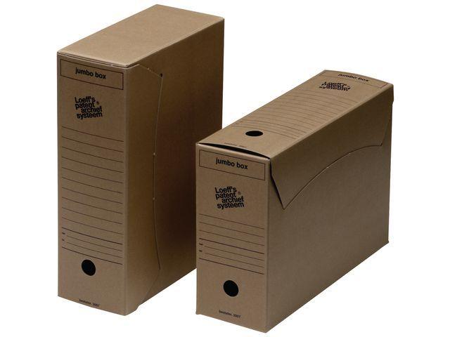 Loeff's Patent Loeff's Patent Archiefdoos Jumbo box 370 x 255 x 115 mm (pak 25 stuks)