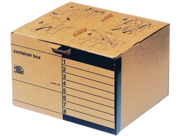 Loeff's Patent Loeff's Patent Archiefcontainer Standaard 410 x 275 x 370 mm (pak 15 stuks)