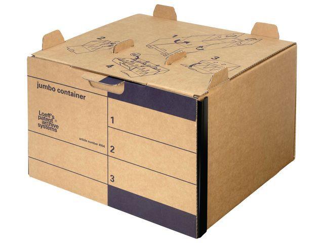 Loeff's Patent Archiefcontainer Loeff Jumbo/doos 15