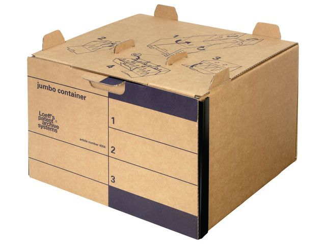 Loeff's Patent Loeff's Patent Archiefcontainer Jumbo 425 x 280 x 400 mm (doos 15 stuks)