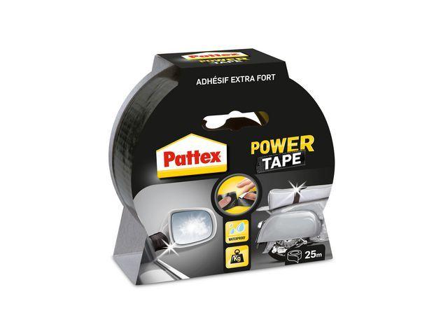 Pattex Power tape Pattex 50mmx25m zwart/rl 25m