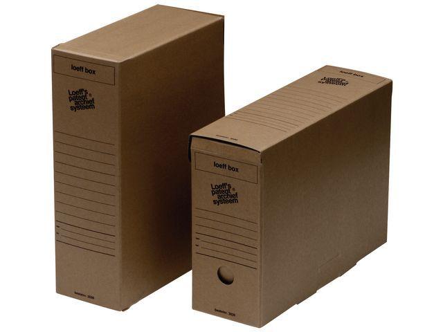 Loeff's Patent Loeff's Patent Archiefdoos Loeff box 370 x 260 x 115 mm (pak 50 stuks)