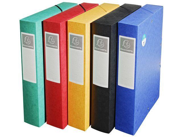Exacompta Dossierbox Exacompta NF A4 60mm ass/pk10