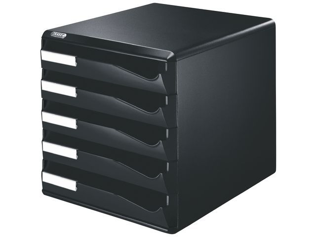 Leitz Ladenblok Leitz 5 laden zwart/zwart